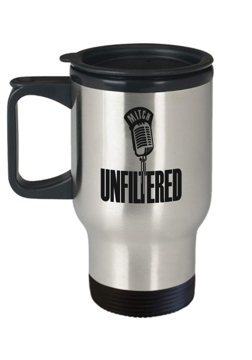 MU travel coffee mug